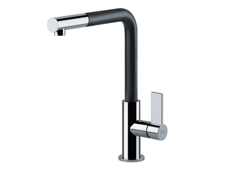 FRANKE tap NEPTUNE EVO chrom/black / high-pressure / pull-out nozzle / 115.0373.945
