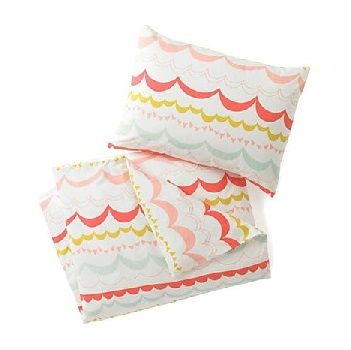 Dwell Studios Garland Quilt Set $190.00  #sweetcreations #baby #toddlers #kids #bedding
