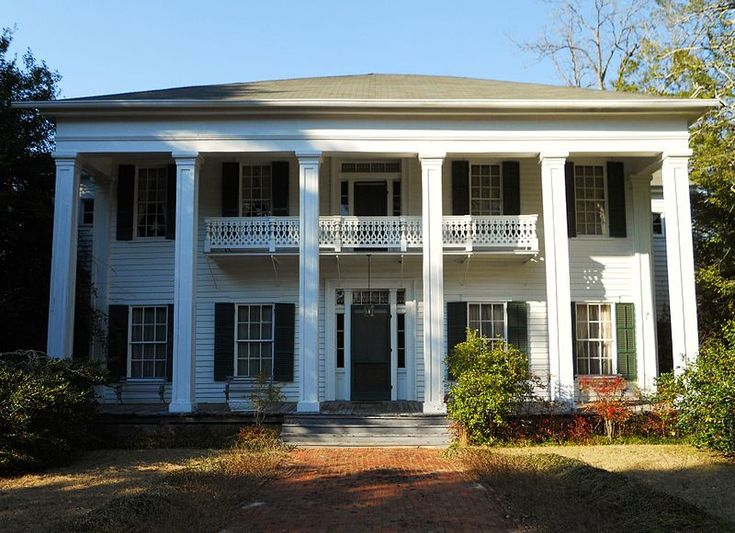 2627 best visions of the past images on pinterest for Southern architectural styles