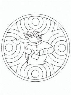 Le coin des petits   Maternelle Cycle 1: Mandalas de Noël en Maternelle cycle 1