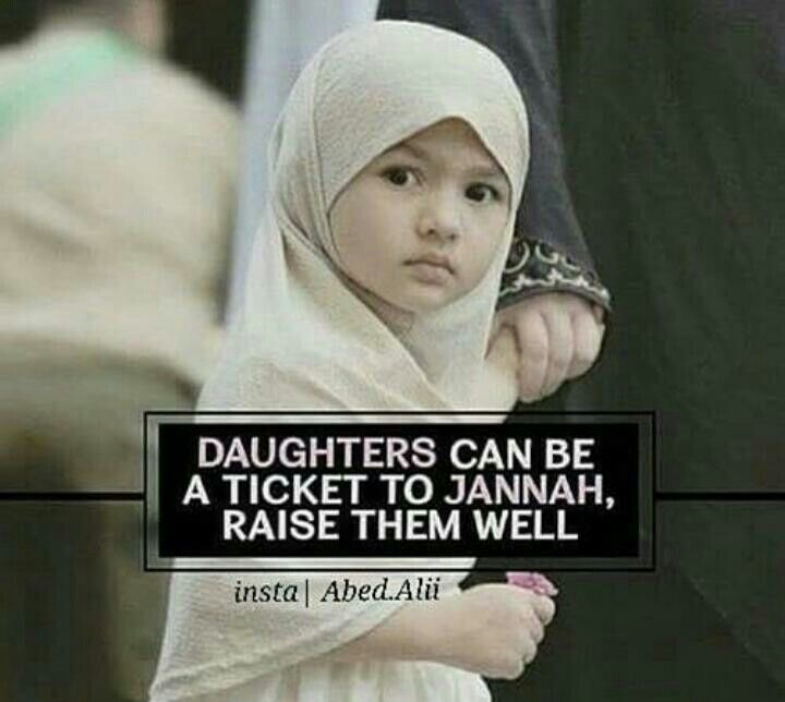 Raise Your Daughters well❤