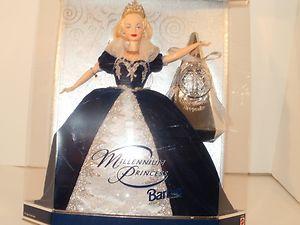 Millennium Princess Barbie with Hallmark Ornament and Doll Stand Mattel 24154