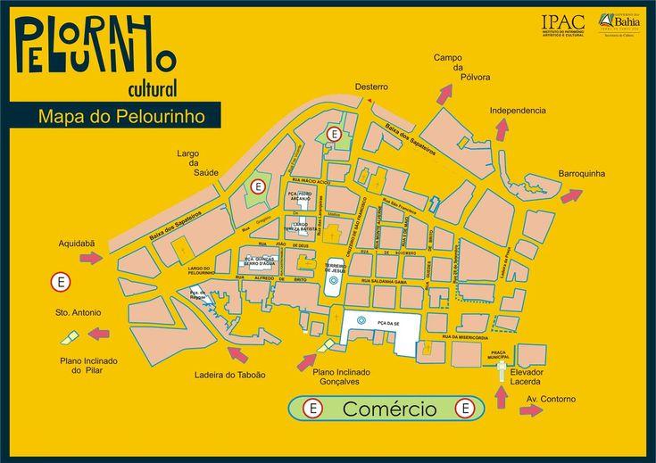 Mapas de Salvador - BA - MapasBlog