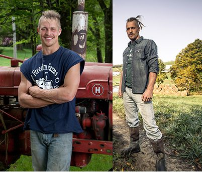 Then & Now - Pete! #FarmKings