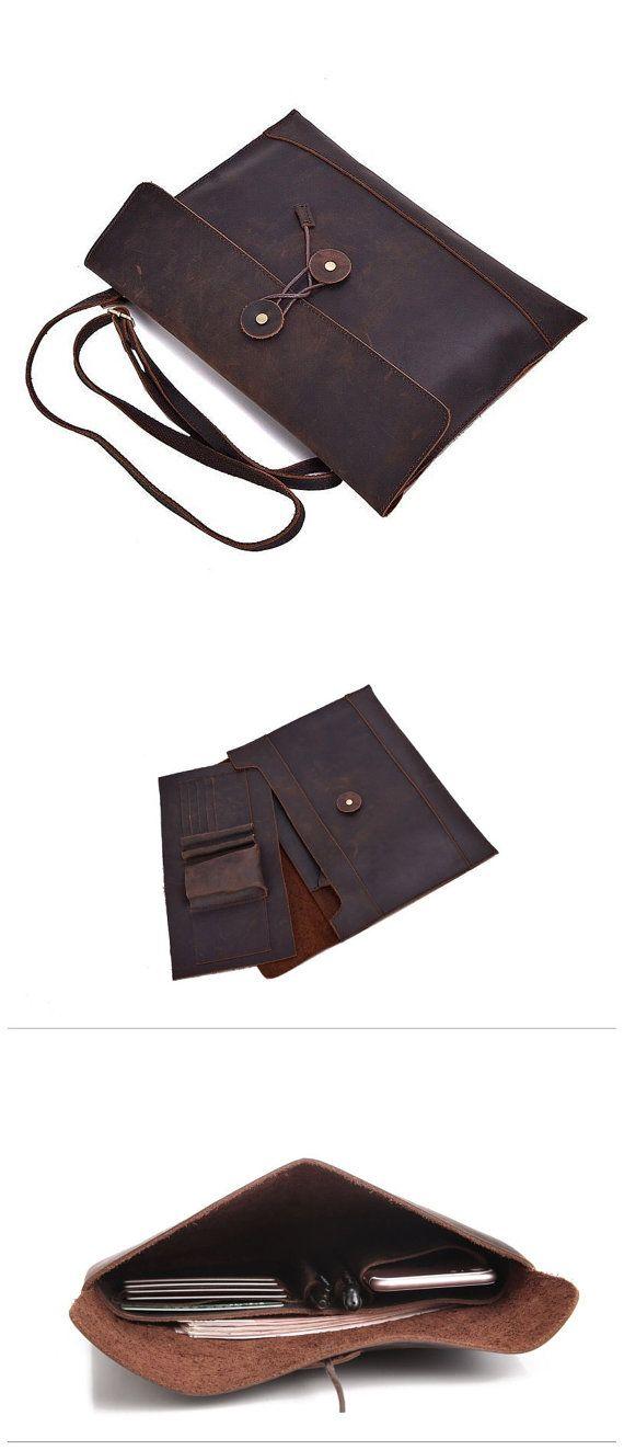 Brown iPad Leather Case Leather iPad case iPad by mollostudio