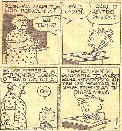 Bill Watterson está no meu panteão de grandes artistas. Durante 10 anos ele escreveu diariamente as tirinhas dos personagens Calvin e Haroldo: simplesmente um dos quadrinhos mais delicados, engraça…