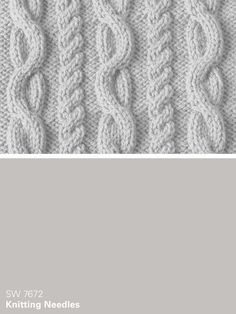 Sherwin-Williams gray paint color – Knitting Needles (SW 7672)
