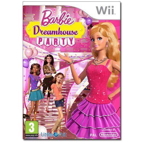 Barbie Dreamhouse Party  NINTENDO  WII NUOVO!!!