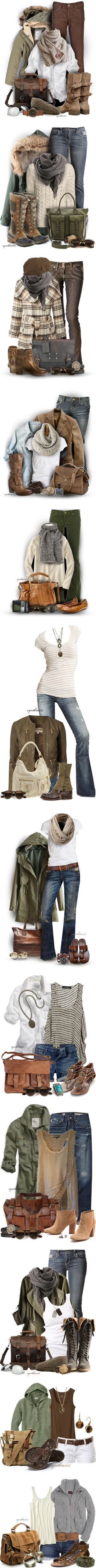 Earthy Comfort by cynthia335 on Polyvore featuring Citizens of Humanity, American Eagle Outfitters, Failsworth Hats, Urban Boundaries, H&M, Liebeskind, SOREL, Bruuns Bazaar, Treska and Coldwater Creek