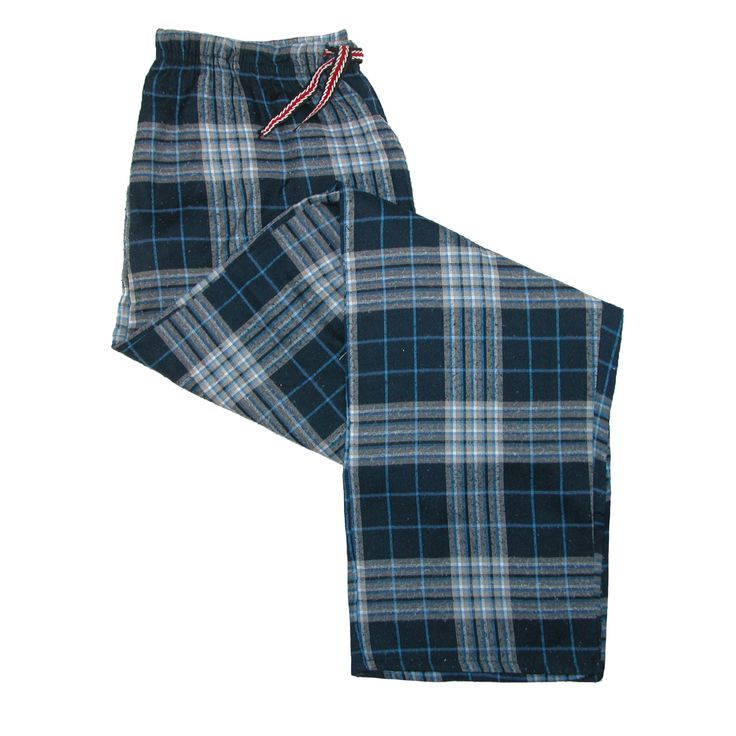 Ten West Apparel Mens Flannel Pajama Lounge Pants