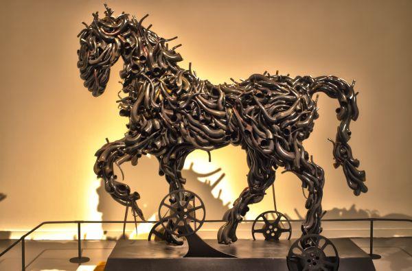 Metal Horse - Singapore Art Museum #MetalHorse #SingaporeArtMuseum #Singapore