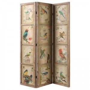 Decorative Bird Screen
