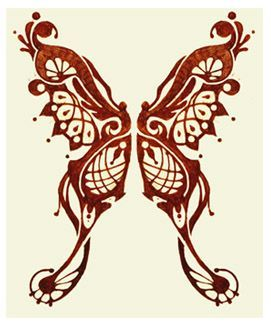 henna butterfly tattoo designs | Butterfly Tattoo Ideas for Girls - Feminine Tattoos | Girls Tattoo