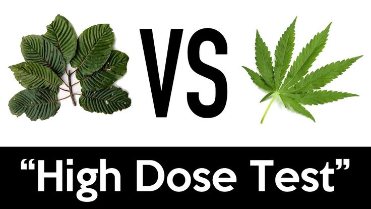 Kratom VS Weed | High Dose Test