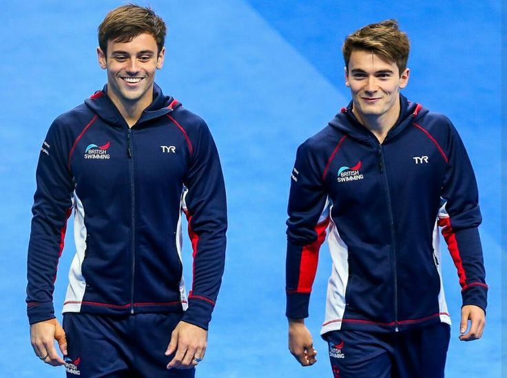 """6 Likes, 1 Comments - Tom Daley Taiwan (@tomdaley.tw) on Instagram: """"Fave team ever. #teammategoals #TomDaley #DanielGoodfellow #divers #TeamGB"""""""