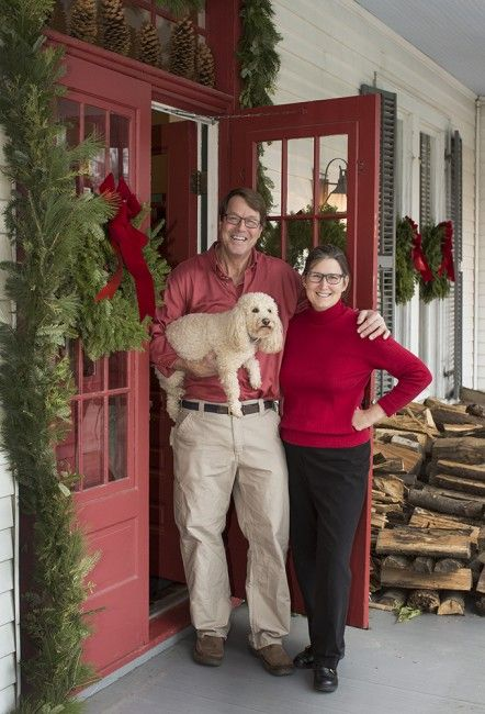 Owners Frank and Julia Haynes welcome guests at The Inn at Manchester.
