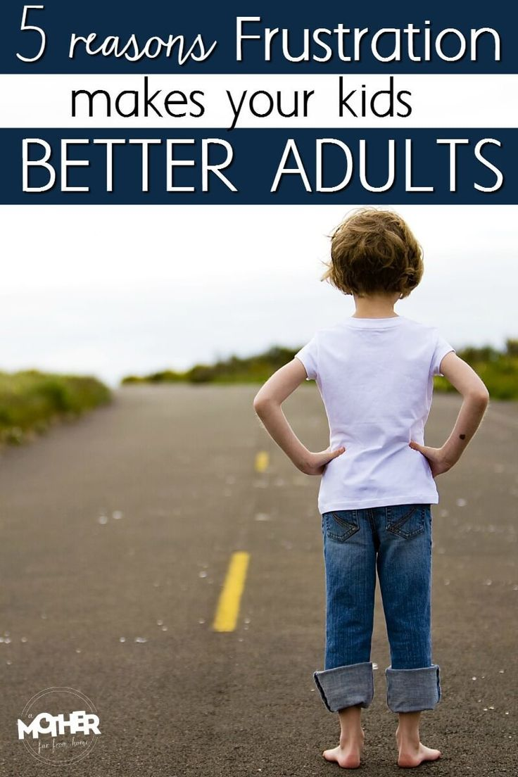 If you have a child who is frequently frustrated and throwing tantrums, here's how it can actually help them become more healthy adults. Great read for mothers of toddlers and preschoolers.