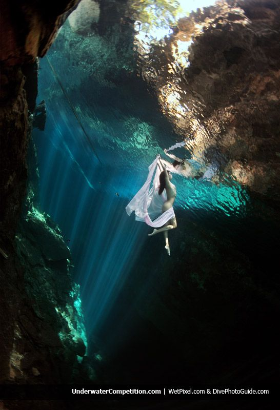 "Anatoly Beloshchin, ""Underwater fantasy"" 2011 Our World Underwater Competition (Commercial, Conceptual & Fashion) Silver-Winning Image"