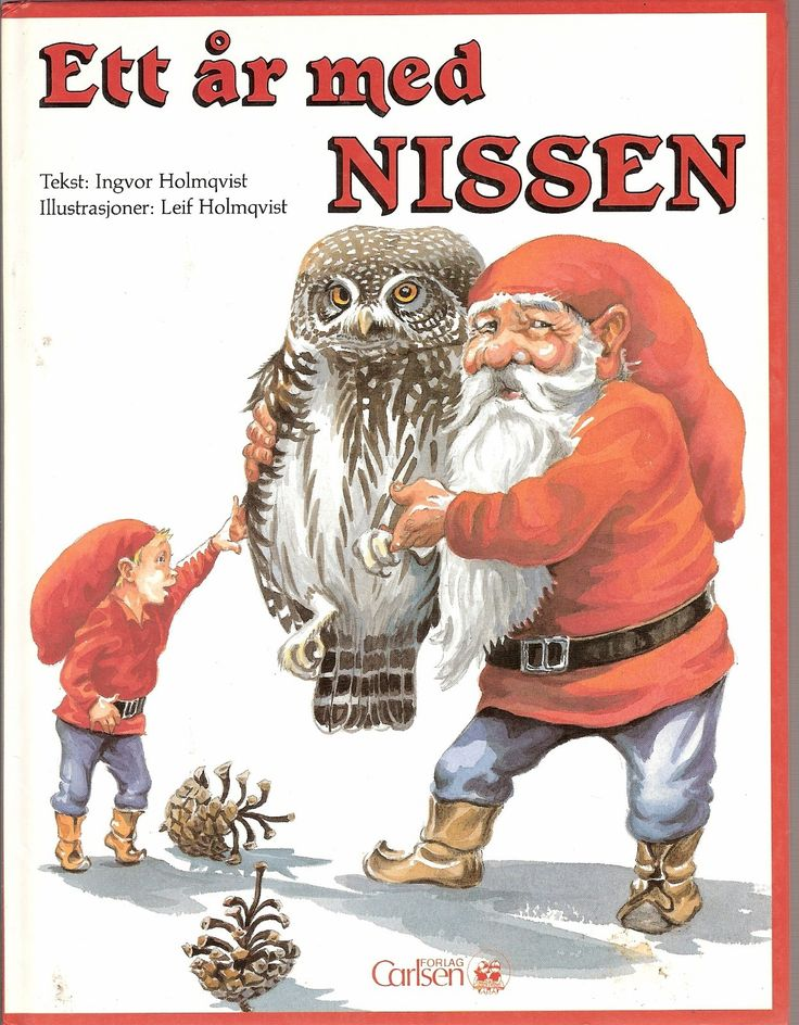 ". * Ingvor Holmqvist: ""Et år med nissen"". Carlsen forglag 1990. 1.opplag. Hel og meget pen. Kjøper betaler frakt eller henter selv."