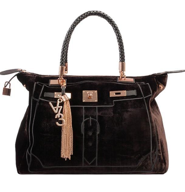 V73 Velvet Bag T. Moro http://www.v73.us/luxury-velvet/133-velvet-bag-t-moro #v73 #velvet #bag #moro