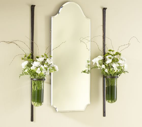 Artisanal Wall-Mount Vase set of two $94 (one for $49)