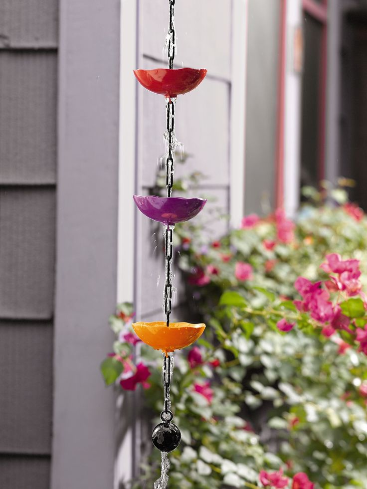 Poppy Rain Chain Gardeneru0027s Supply Company
