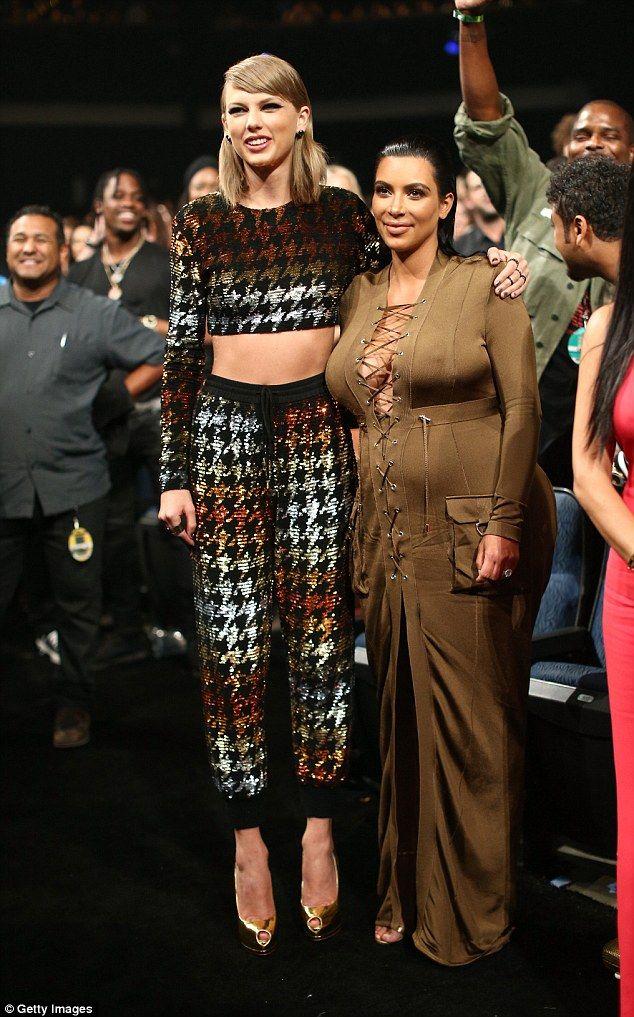 Drama Kanye Claimed To Have Permission From Taylor To Use The Particular Lyrics Somethi Fashion Kanye West And Kim Kardashian Outfit