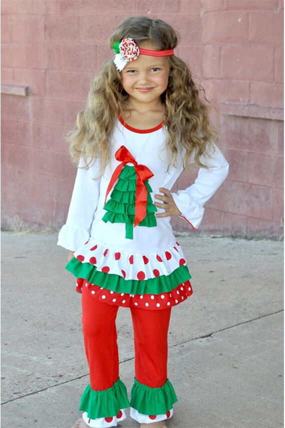 53 Best Baby Girl Christmas Clothes Images On Pinterest