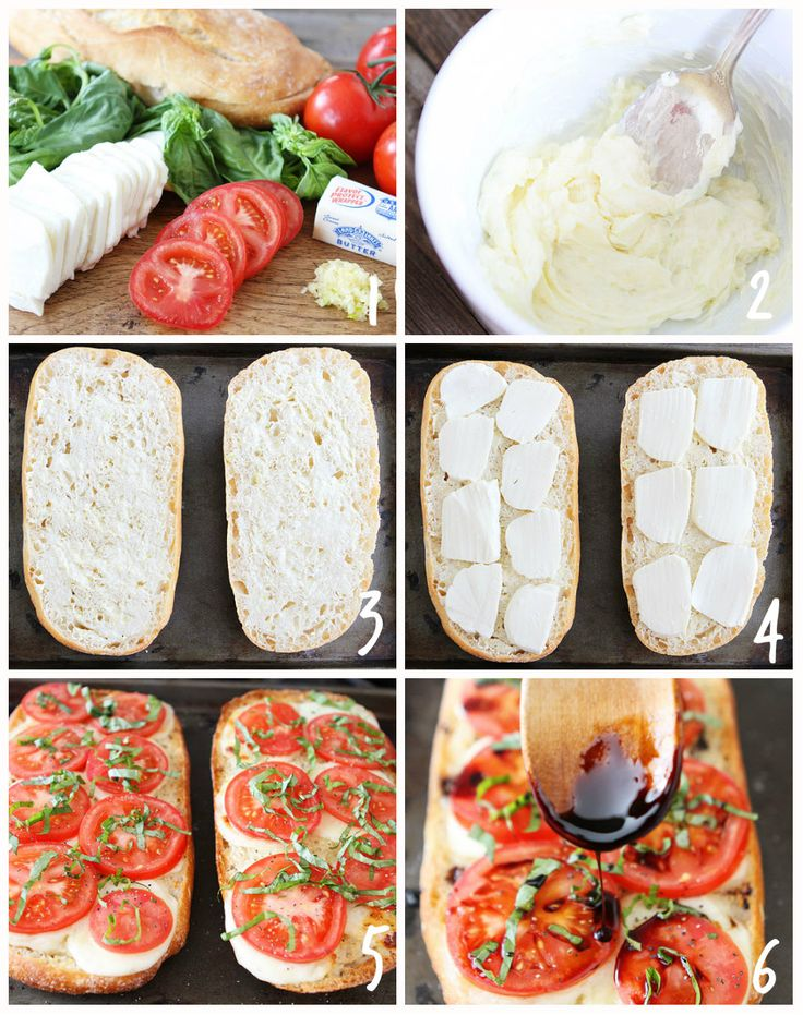 Receta: Pan de ajo a la Caprese | ActitudFEM