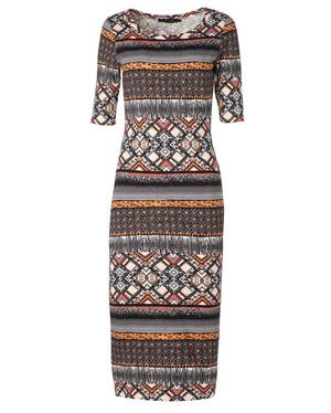 Ethnic printed dress