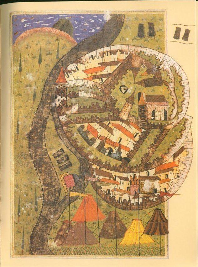 Matrakçı Nasuh-Esztergom - 1543