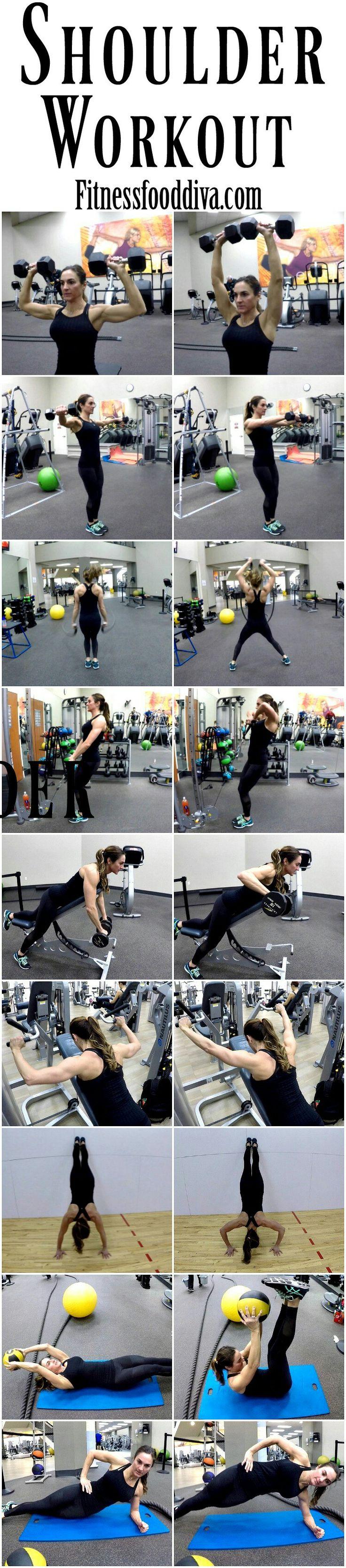 shoulders. shoulder workout.