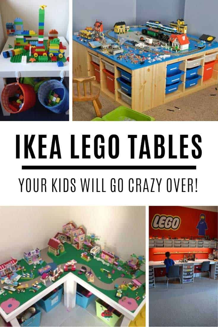 13 awesome ikea lego tables that your kids will go crazy over diy rh pinterest com