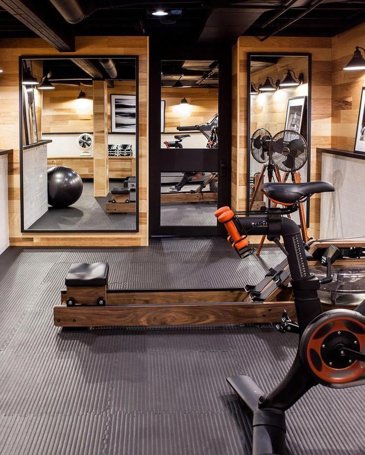 basement gym basement gyms in 2019 gym room at home home gym rh pinterest com