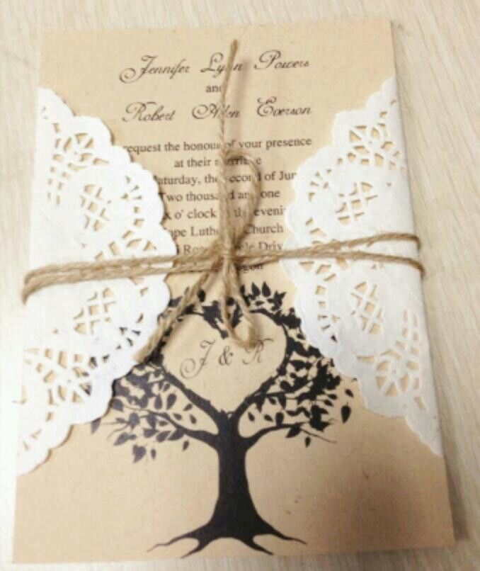 ideas for country wedding invitations%0A country rustic lace wedding invitations for      trends