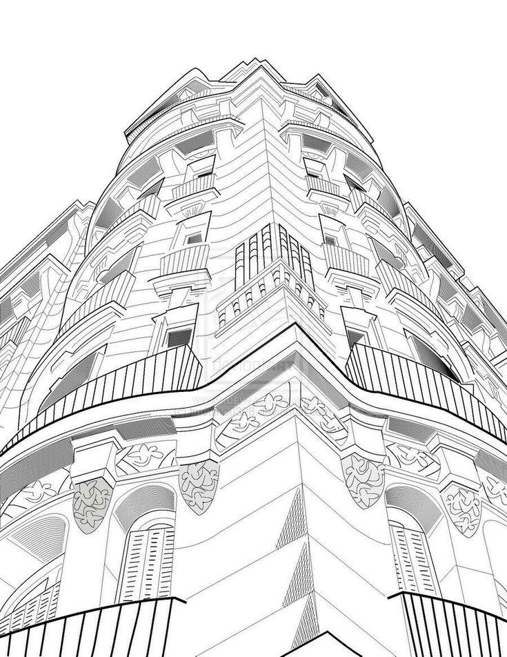 31 besten perspective drawing bilder auf pinterest perspektive zeichentechniken und anleitungen. Black Bedroom Furniture Sets. Home Design Ideas