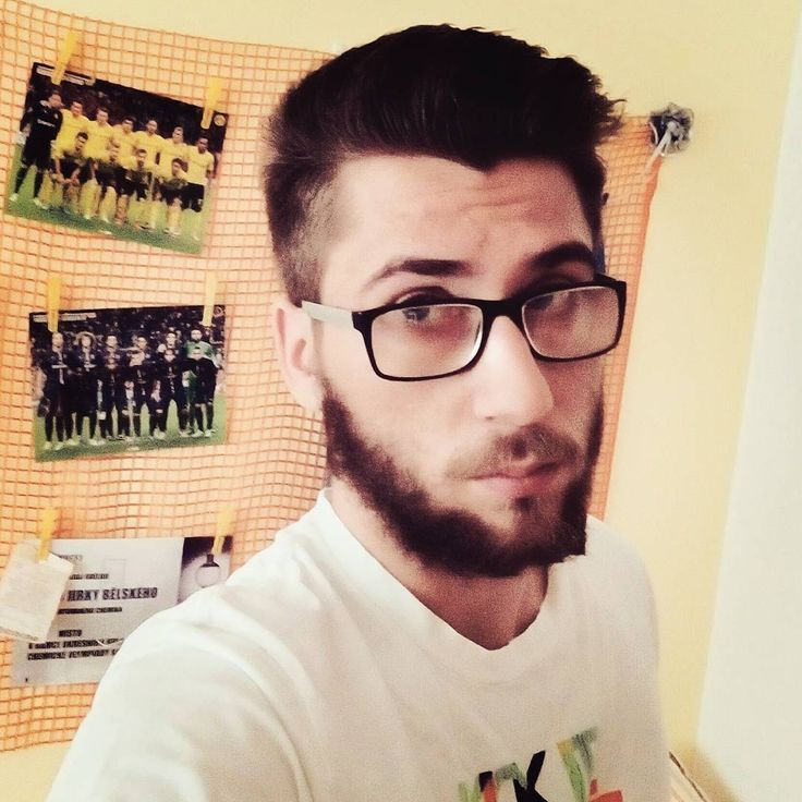#me #lazy #bored #lazyday #boringday #relax #afterparty #holidays #posters #bvb #psg #glasses #beard #czechboy