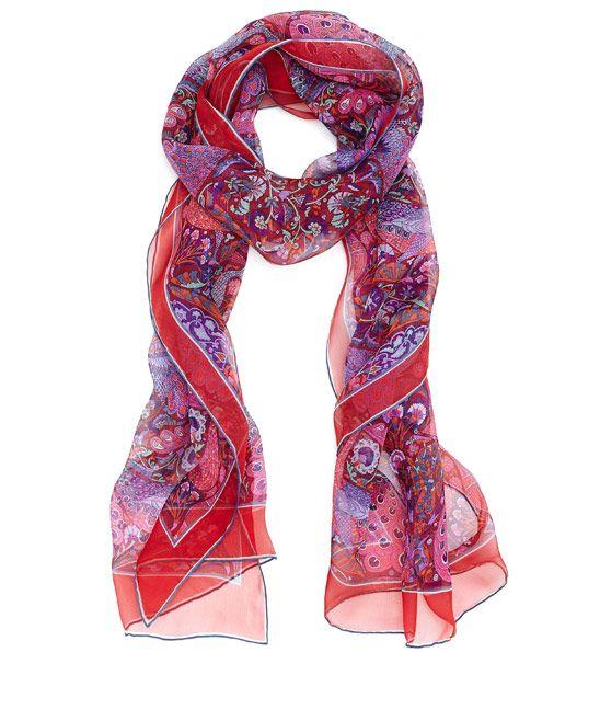 Mejores 41 imágenes de Scarves en Pinterest | Pañuelos de seda ...