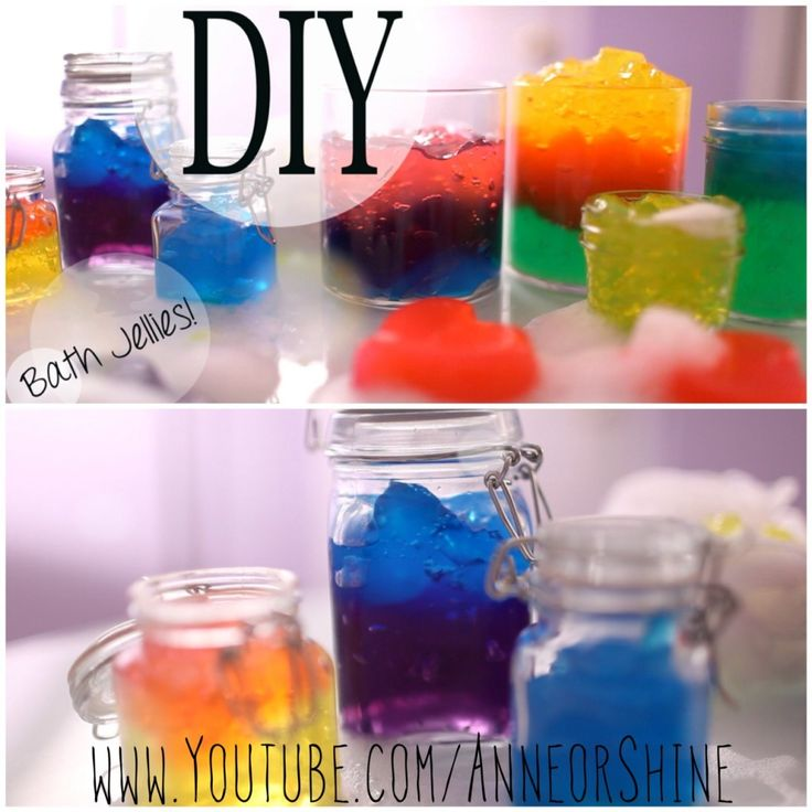 DIY Fun Bath Jellies