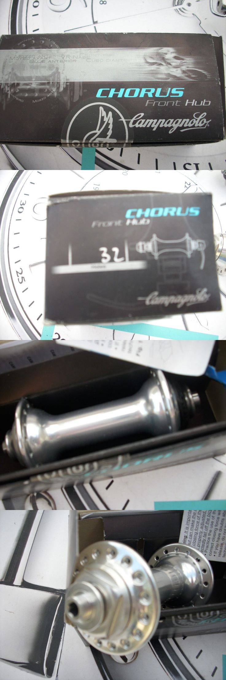 Hubs 177820: Nib Campagnolo Chorus 32H 10Spd F Hub Wqr Merckx Colnago Campy De Rosa Masi -> BUY IT NOW ONLY: $105 on eBay!