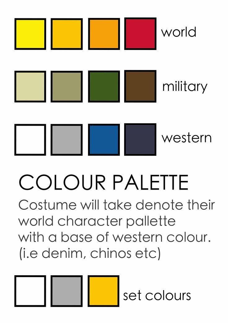Palette for design