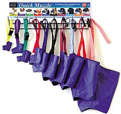 I know throwing them all in a drawer doesn't work.  Can never find the size you want.  Buying color coded ones may help.  This doesn't seem like a great solution either.  Seems tedious plus you need more than one of each size.
