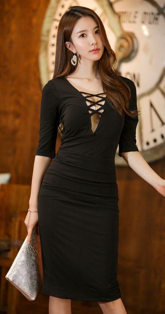 Fashion blog korean style dress