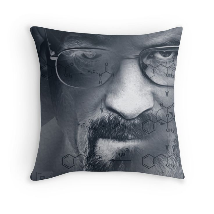Breaking Bad Throw Pillow by Scar Design #breakingbad #breaking #bad #tshirt #redbubble #tv #breaking_bad_tshirt #breaking_bad #breaking_bad_tshirt #Tshirt #BreakingBad #Breaking_Bad #Breaking_Bad_TShirt #print_all_over_tshirt #science_tshirt #chemistry #walter_white #Walter_White_TShirt #Breaking_Bad_gifts #TV_series #awesome_tshirt #breakingbad #breaking_bad #breakingbadtshirt #breaking_bad_tshirt #TVseries #WalterWhite #tshirt #geek #nerd #nerd_gifts #science #chemist
