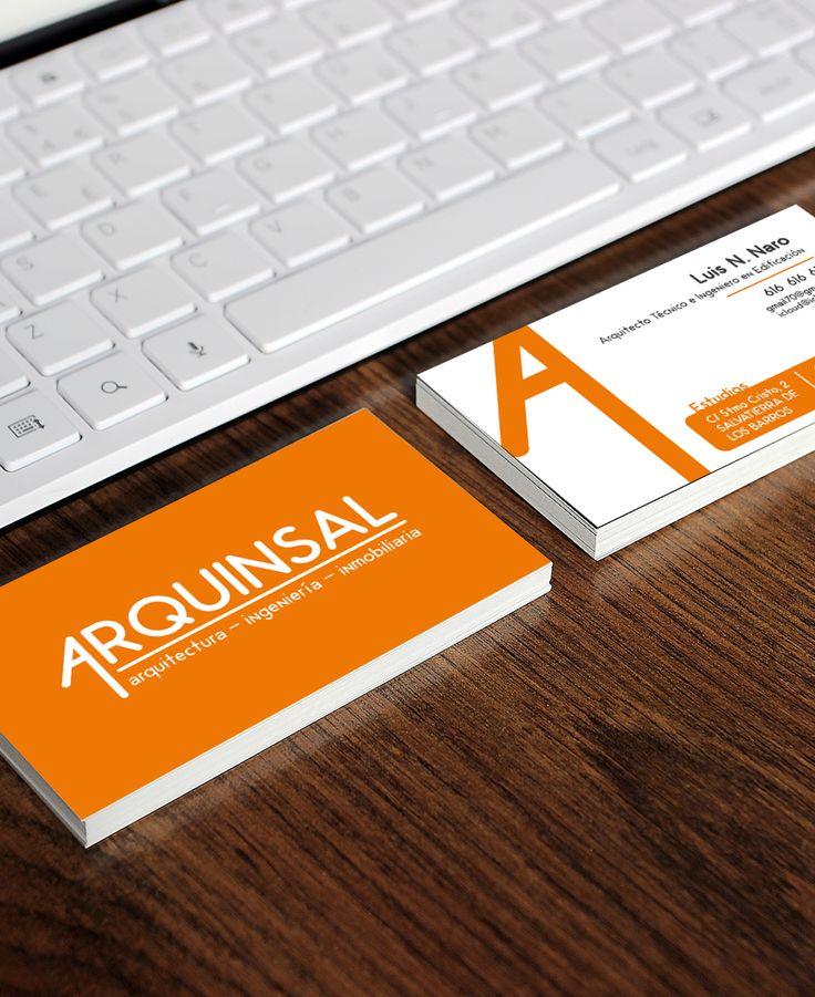 Diseño de la nueva imagen de Arquinsal (estudio de arquitectura)