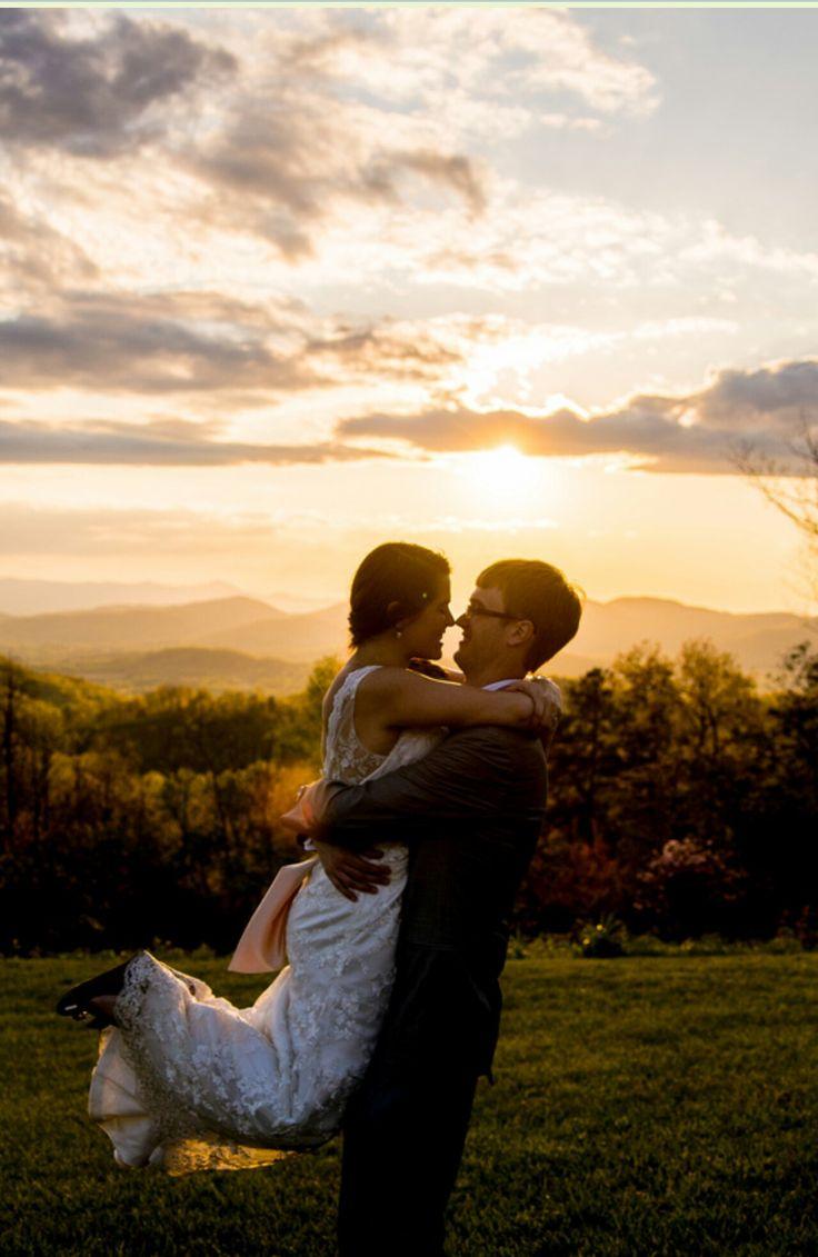 A mountain wedding at the cabin ridge an outdoor wedding for Wedding dresses asheville nc