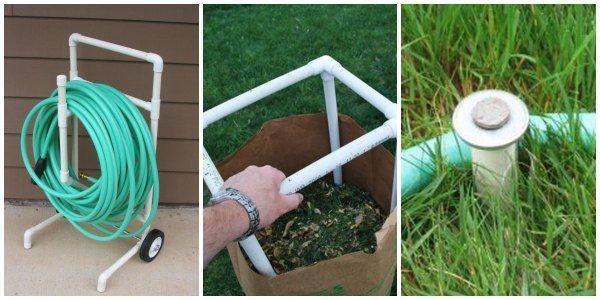62 best outside images on pinterest gardening garden for Pvc pipe art ideas