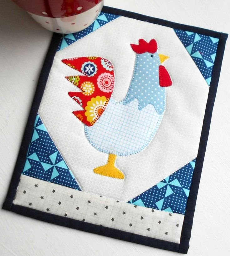 2017 is the Year of the Rooster so I'm adding a touch of rooster magic to my table with this fun pattern.