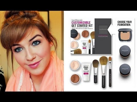 How to Properly Use Your @bareMinerals Starter Kit | @QVC #bareminerals #makeuptutorial