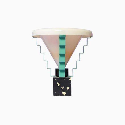 Italienische Glastonbury Tischlampe von George J. Sowden, 1984 Jetzt bestellen unter: https://moebel.ladendirekt.de/lampen/tischleuchten/beistelltischlampen/?uid=7f01a359-10c7-50b7-affa-3321dd60d3fd&utm_source=pinterest&utm_medium=pin&utm_campaign=boards #lampen #tischleuchten #beistelltischlampen